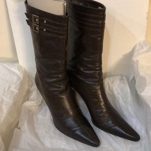 Banana Republic heeled boots sz 7